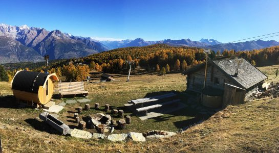 Moos-Alphütte