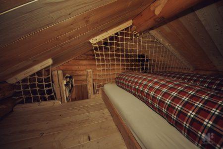 Betten zweiter Stock